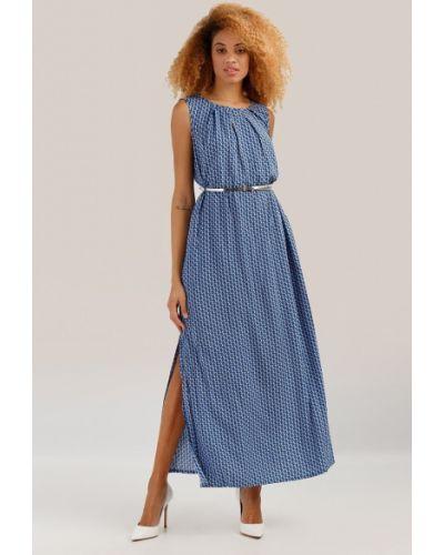 Свободное платье макси с поясом с разрезом Finn Flare