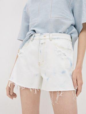 Белые джинсовые шорты закрытые Closed