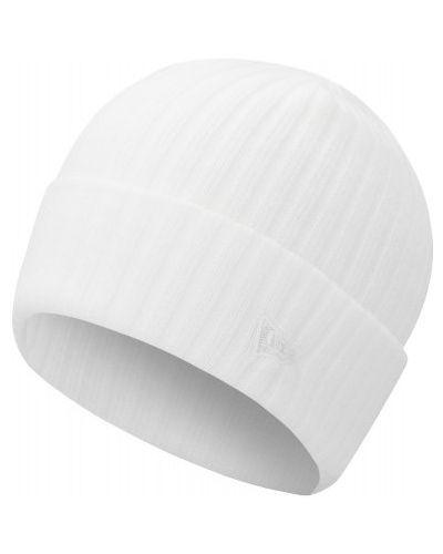 Теплая акриловая белая спортивная шапка New Era