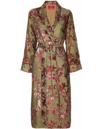 Пальто с вышивкой с вышивкой F.r.s. For Restless Sleepers
