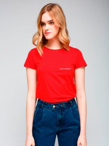 Повседневная красная футбольная футболка Must Have