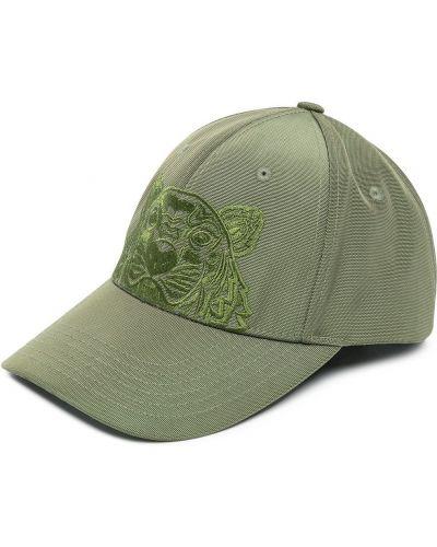 Czarny baseball bawełna czapka baseballowa Kenzo