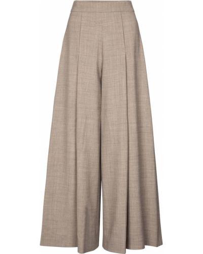Шерстяные брюки свободного кроя Emilia Wickstead