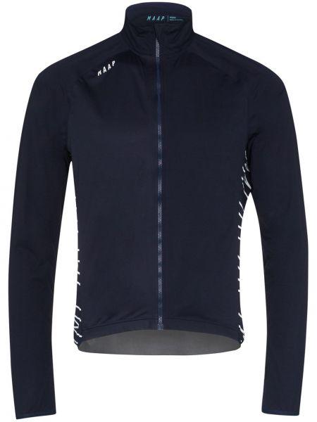 Спортивная синяя спортивная куртка Maap