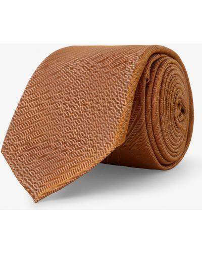 Pomarańczowy krawat Finshley & Harding