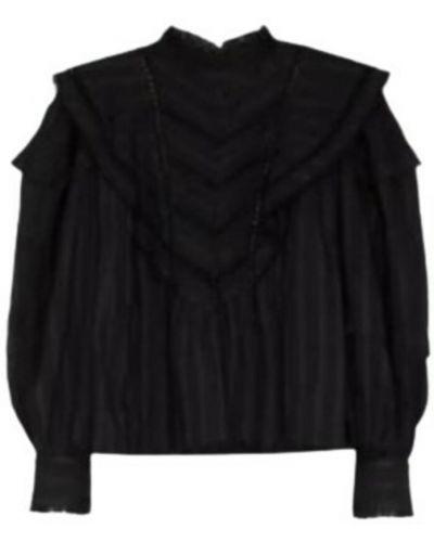 Koszulka - czarna Isabel Marant Etoile