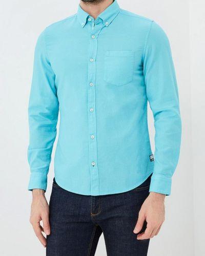 Бирюзовая рубашка S.oliver