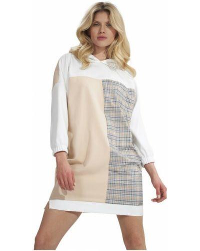 Biała sukienka Figl