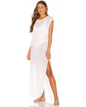 Платье макси со складками Vitamin A