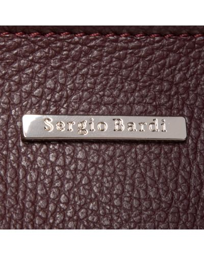 Сумка - бордовая Sergio Bardi