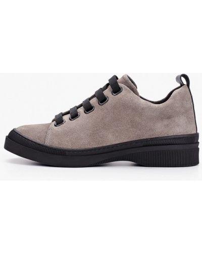 Серые ботинки Thomas Munz