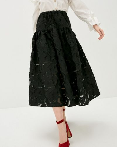 Черная юбка свободного кроя Sister Jane