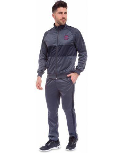 Флисовый спортивный костюм - черный Zelart
