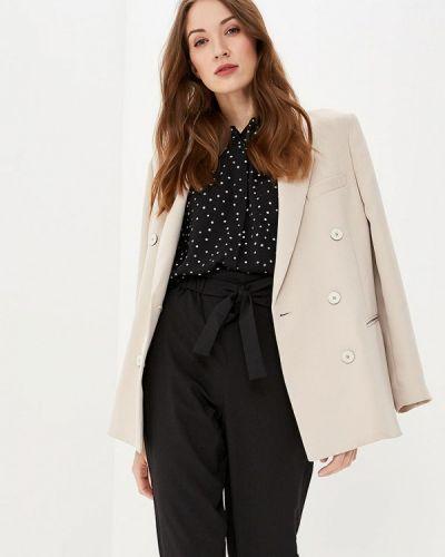 Блузка с длинным рукавом весенний черная Modis
