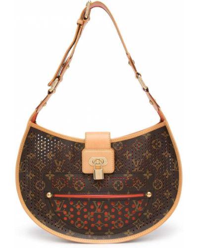 Pomarańczowa złota torebka Louis Vuitton