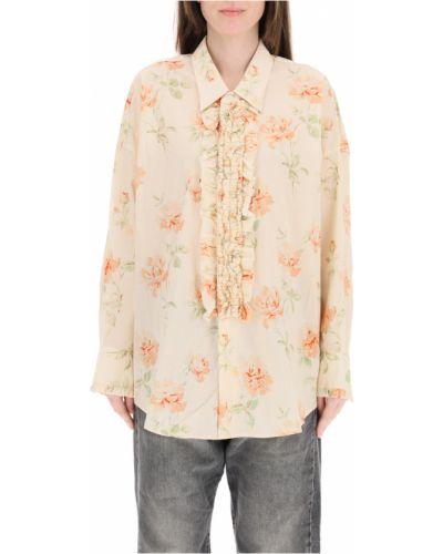 Beżowa koszula R13