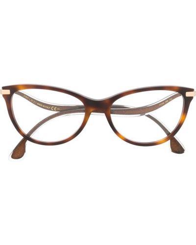 Коричневые солнцезащитные очки Jimmy Choo Eyewear