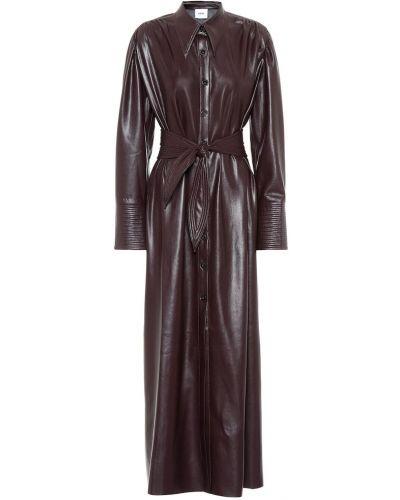 Облегающее платье платье-майка платье-рубашка Nanushka