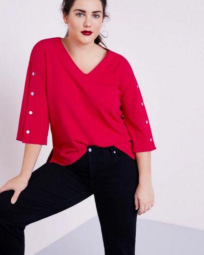 Красная блузка с длинным рукавом Violeta By Mango