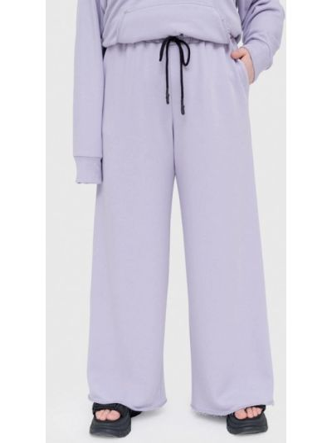 Фиолетовые спортивные спортивные брюки Lessismore