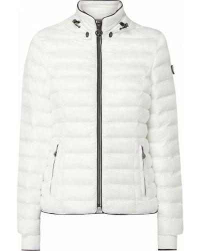 Biały kurtka z mankietami z kieszeniami z zamkiem błyskawicznym Wellensteyn