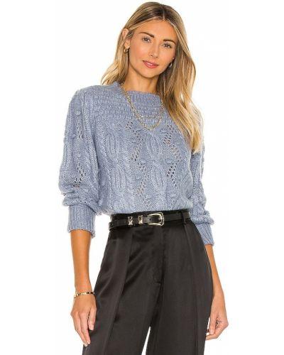 Шерстяной свитер - синий Heartloom