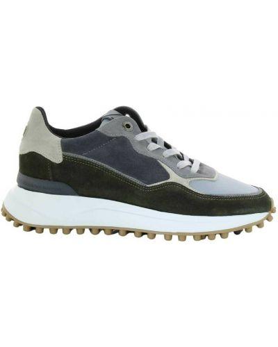 Zielone sneakersy Floris Van Bommel