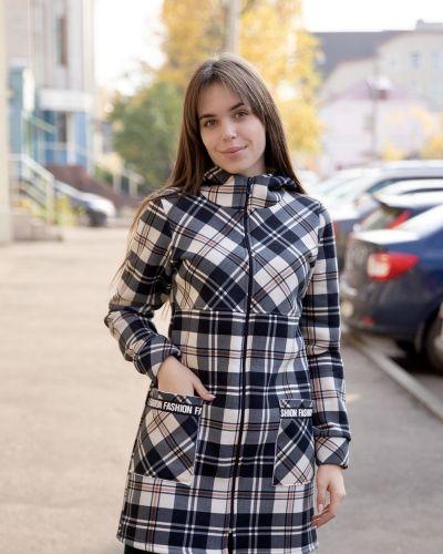 Прямая толстовка с начесом из футера Lika Dress