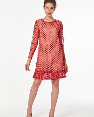 Платье в горошек из штапеля Victoria Filippova