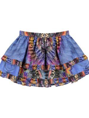 Niebieska spódnica bawełniana Camilla Kids