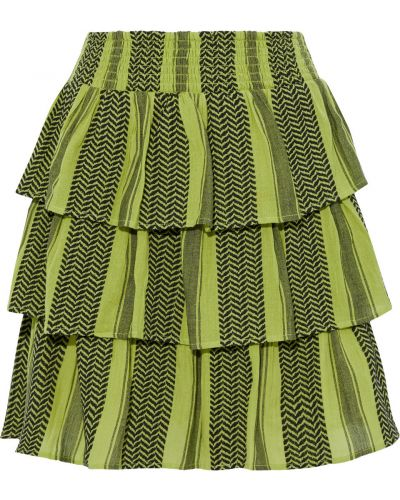 Юбка мини - зеленая Cecilie Copenhagen