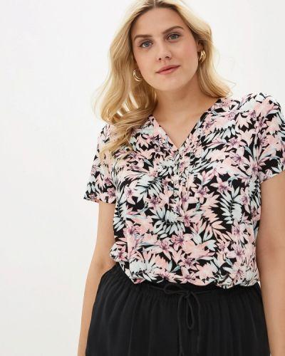 Блузка с коротким рукавом турецкий черная Evans