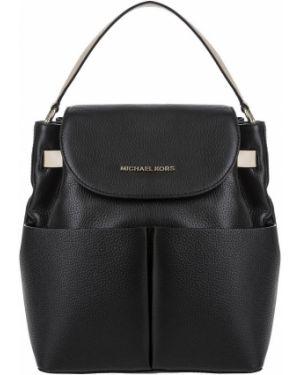Кожаный рюкзак черный Michael Michael Kors