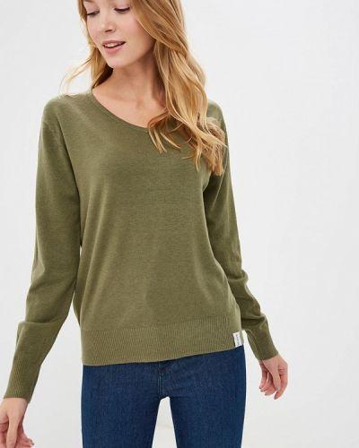Пуловер хаки Nastasia Sabio