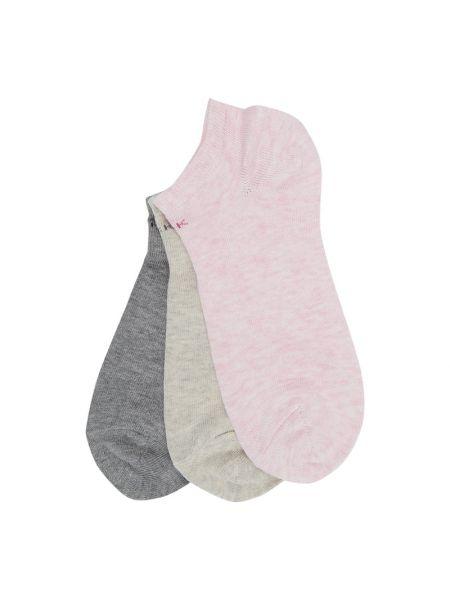 Różowe skarpety bawełniane Ck Calvin Klein
