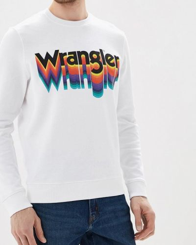 Белый свитшот 2018 Wrangler