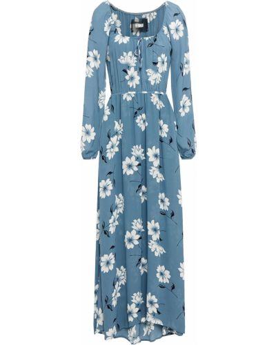 Платье макси - синее Reformation
