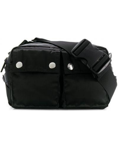 Черная поясная сумка Porter