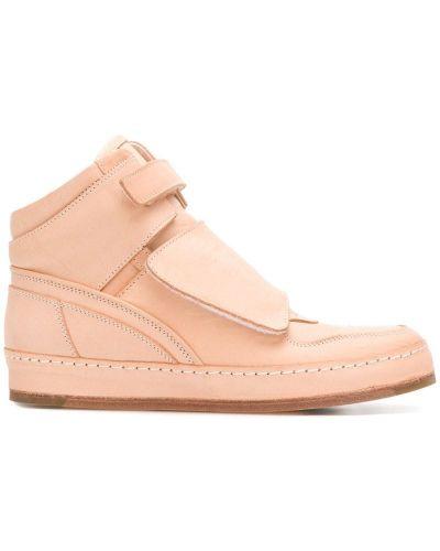 Розовые кроссовки Hender Scheme