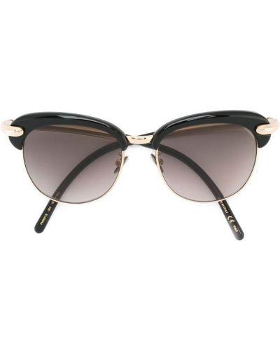 Солнцезащитные очки металлические круглые Pomellato