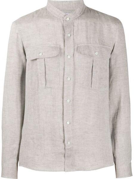 Koszula z długim rękawem długa z kołnierzem Brunello Cucinelli