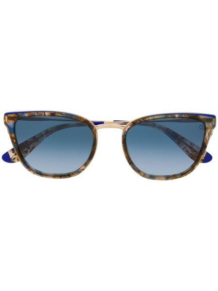 Солнцезащитные очки металлические - желтые Etnia Barcelona