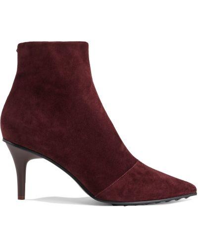 Ankle boots zamszowe w szpic Rag & Bone