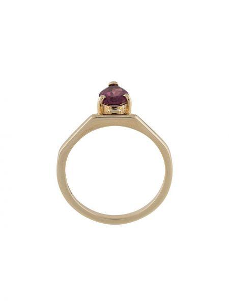 Кольцо золотое с гранатом Natasha Schweitzer