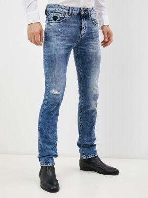 Синие джинсы осенние John Richmond