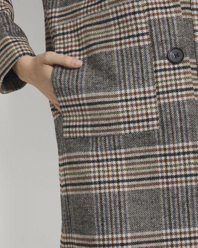 Серое пальто Tom Tailor