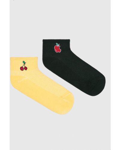 Желтые носки Fulloff