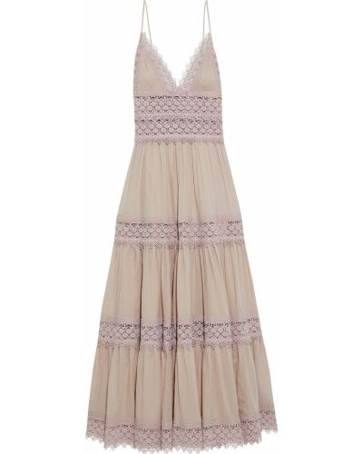 Хлопковое платье макси Charo Ruiz Ibiza
