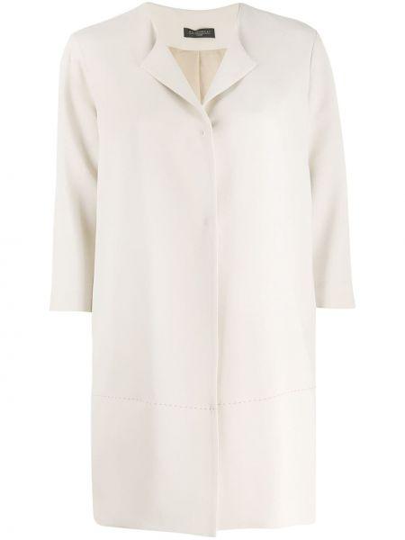 Однобортное пальто с капюшоном на пуговицах Antonelli