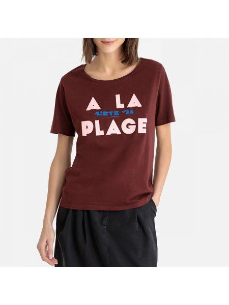 Футбольная бархатная бордовая футболка винтажная Maison Scotch